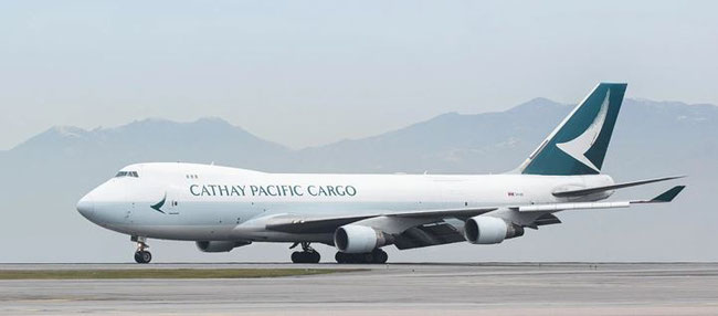 Connecting HKG and RUH… Image: Cathay Pacific Cargo