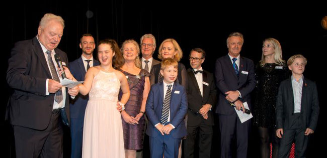 His words still count - Dieter and the large Haltmayer family  -  picture: QCS