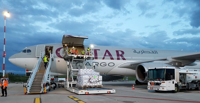 Qatar Cargo intends to increase BSL ops, announces their VP Cargo Europe Robertino Francisco Veltmann