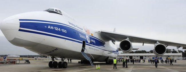 Houston Airport welcomes Volga-Dnepr's decision to base an AN-124F at the Texan airport