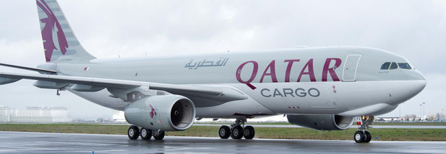 QR Cargo is scaling back its A330F fleet. Pictured here is one of their A330-200 freighters  -  company courtesy