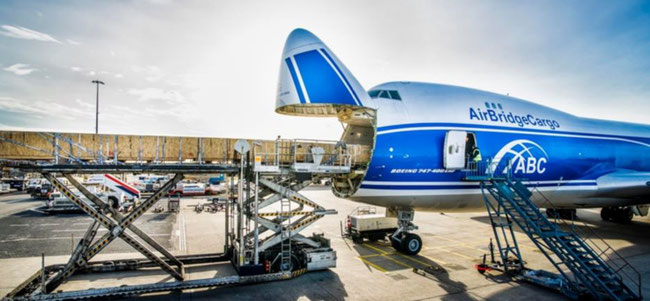 AirBridgeCargo has cancelled all scheduled flights between Europe and China until February 12th. Thereafter, the carrier intends to offer one service per day connecting both markets  -  picture: ABC