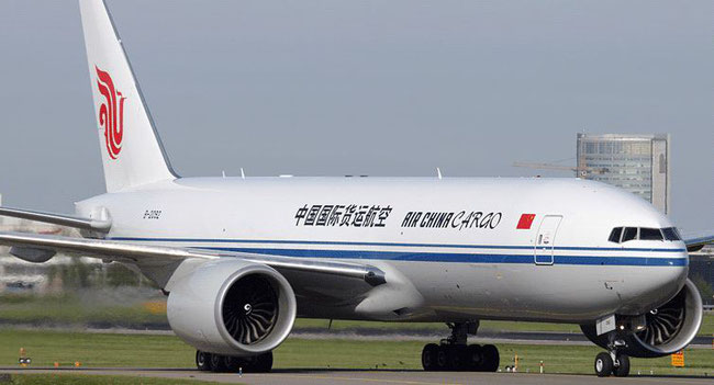 Pictured here is one of Air China Cargo's four Boeing 777 freighters.