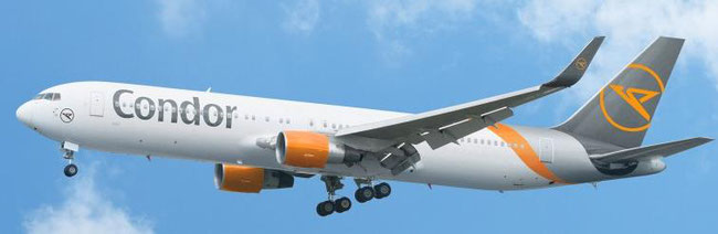 Leisure airline Condor is DHL's latest capacity provider  -  pictures: courtesy of DHL Express