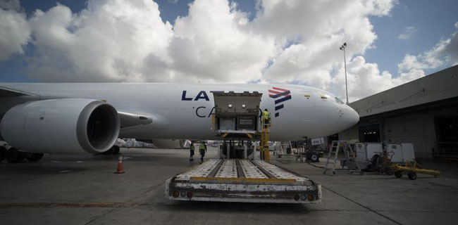 LATAM Cargo goes LAX and MEX. Image courtesy of LATAM Cargo