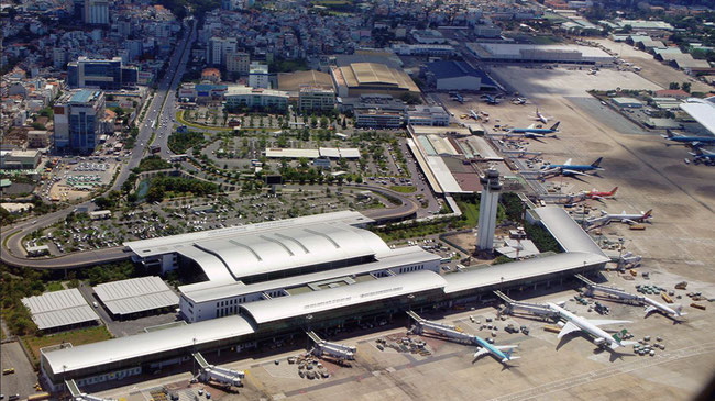 Expansion constraints at Tan Son Nhat International airport