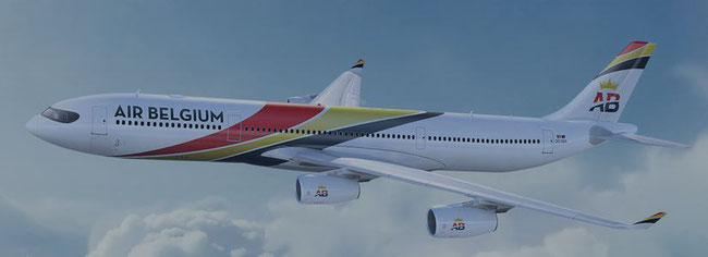 Air Belgium operated A340