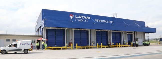 Image of Latam Cargo's new hub for perishables at Guarulhos Airport