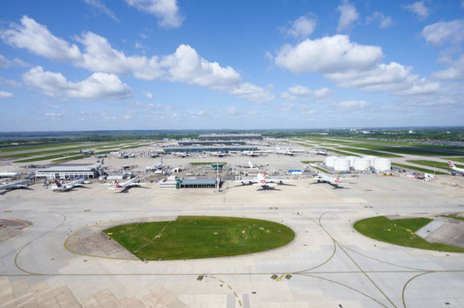 Hopes of a third runway temporarily dashed following court ruling, 27FEB20. Image courtesy of Heathrow Airport.