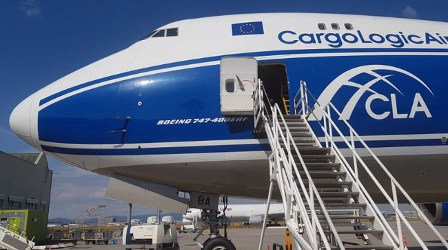 Called back to work: CargoLogicAir's remaining two Jumbo freighters: The one displayed was photographed during a stay in Frankfurt  -  image: CFG / hs