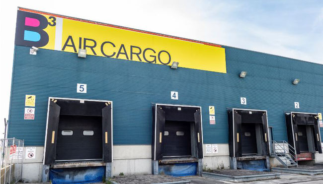 BCUBE Air Cargo Facility at Ostend Airport, Belgium  -  courtesy B3