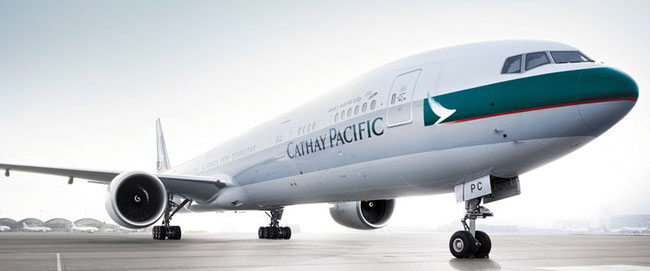 … bearing the colors of Cathay Pacific?  (courtesy CX)