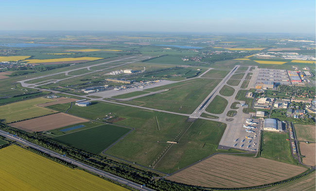 Leipzig/Halle offers cargo carriers unlimited 24/7 access  -  image courtesy of LEJ Airport