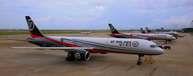 SF Airlines' freighter fleet is growing constantly, so is the carrier's reach  -  company courtesy