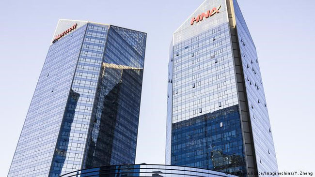 Not for sale: HNA Plaza at Beijing