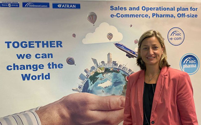 Diana Schoeneich is Senior Director European Region at AirBridgeCargo Airlines since 1 September 2020  -  photo: ABC
