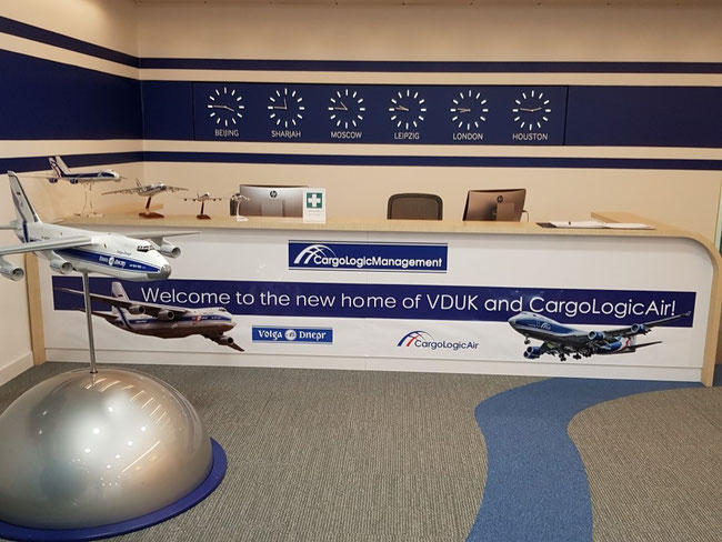 After AOC admission, a CargoLogicGermany model aircraft will be showcased in the London office of the Volga-Dnepr Group, enlarging the freighter line-up.