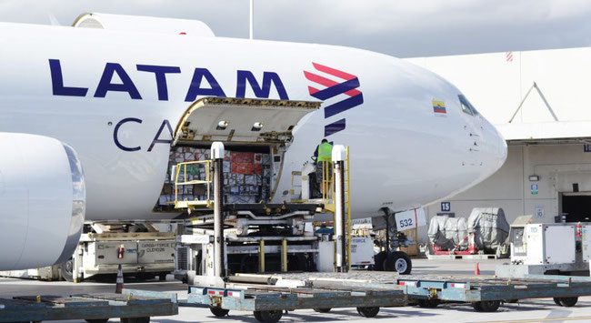 LATAM Cargo supplies the Chicago market with perishables  -  company courtesy
