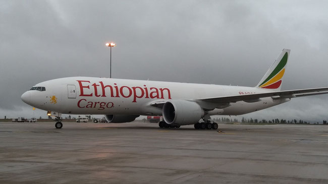 Ethiopian intends to grow its freighter fleet in the coming years  -  company courtesy