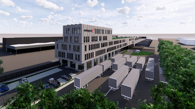 Image of Swissport's new Pharma Center at Brussels Airport  -  courtesy Swissport