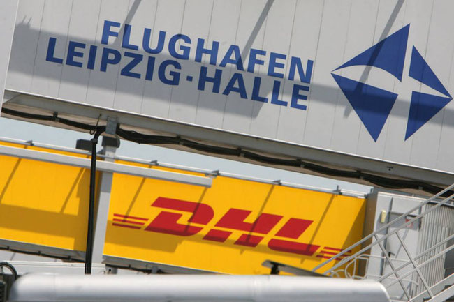 DHL is by far LEJ's most important customer – credit Airport