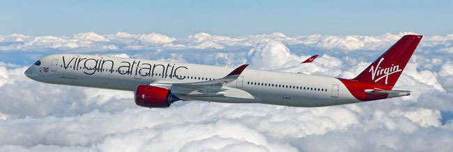 Virgin Atlantic ordered 12 of the very cargo-friendly A350-1000 aircraft