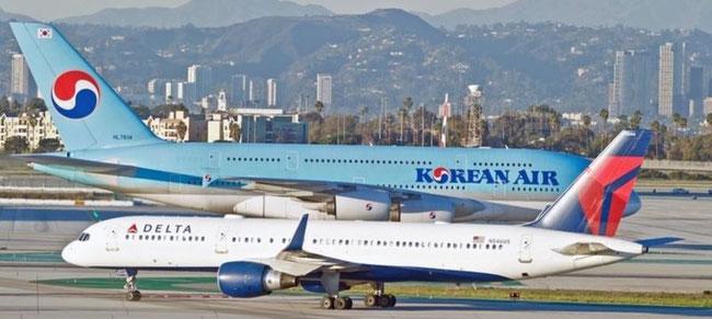 Coming increasingly closer – Delta Air and Korean Air