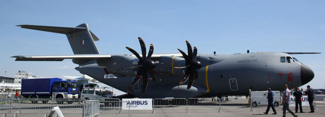 So far, the A400M does not belong to the successful variants built by Airbus - photo: hs