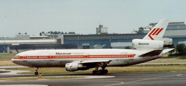 Martinair operated five DC-10-30CF - company courtesy