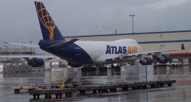DHL Global Forwarding leased a second Atlas Air B747-400F for intercontinental transports.