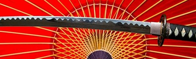 刀と日本傘