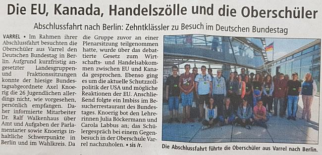 Quelle: Kreiszeitung vom 25.06.2018