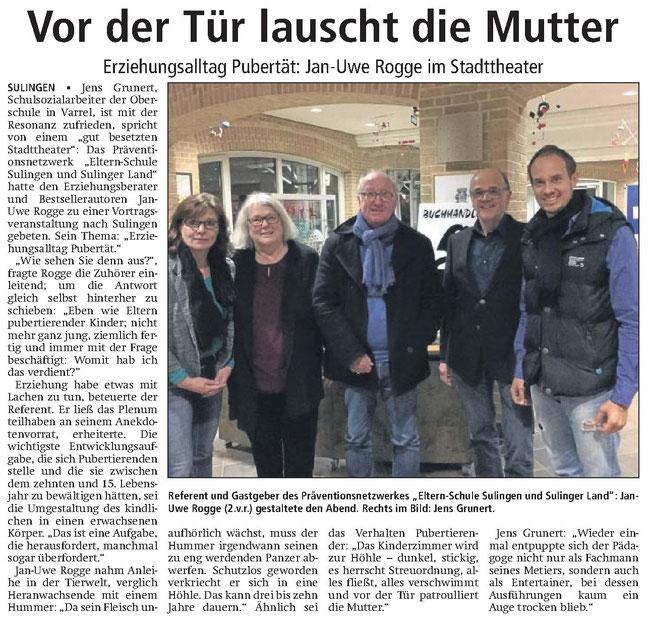 Sulinger Kreiszeitung (11.11.2016)
