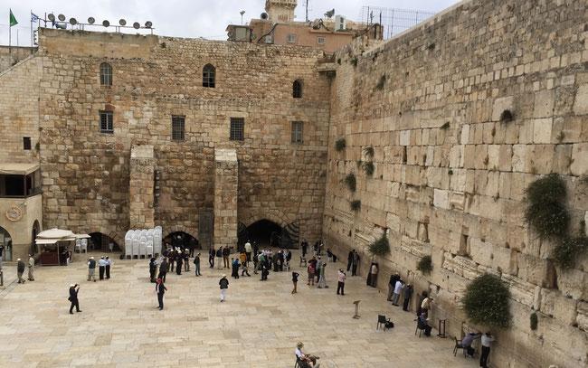 Jerusalem- Klagemauer