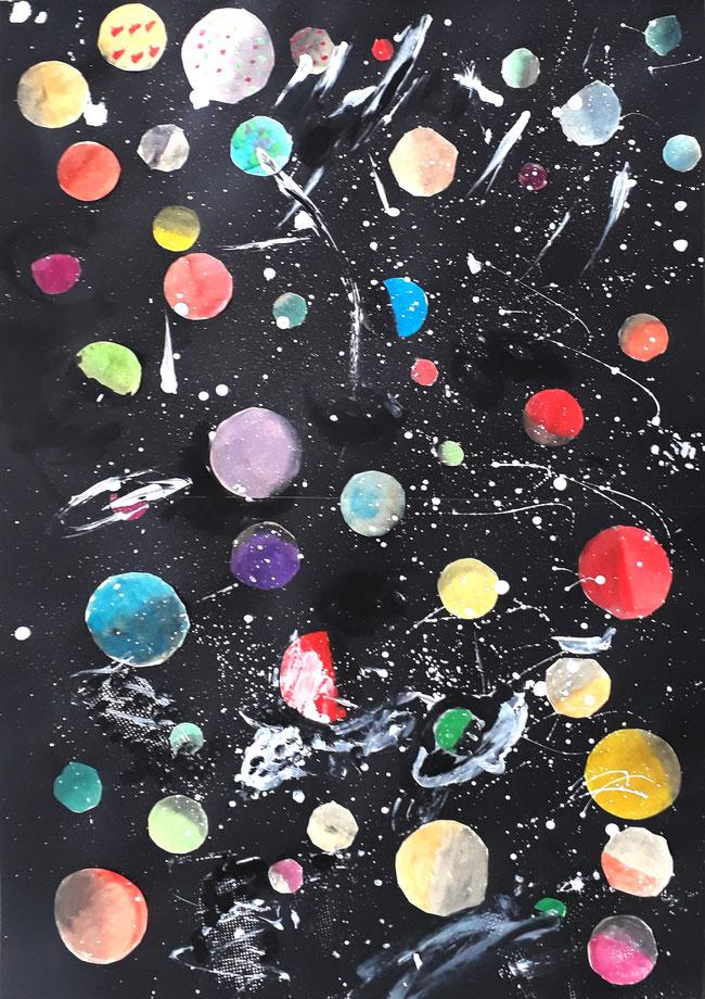 Planeten, Kosmos, All, Schwarze Löcher.