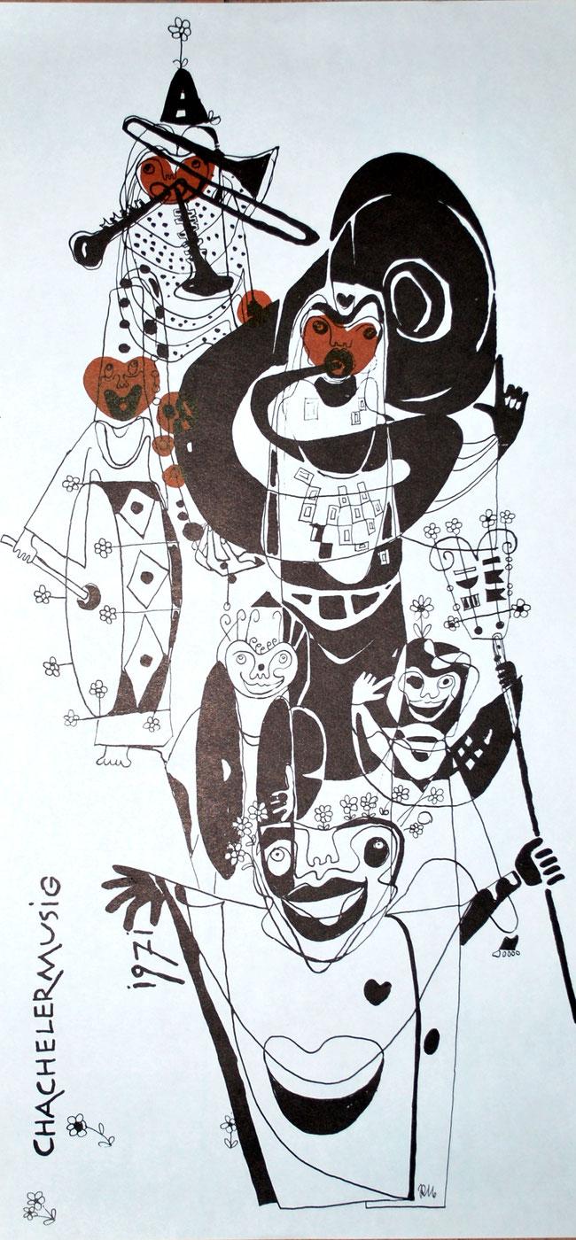 1971 Litho von Ruth Margraf