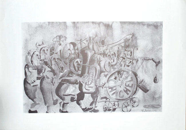 1981 Druck Hanspeter Kistler