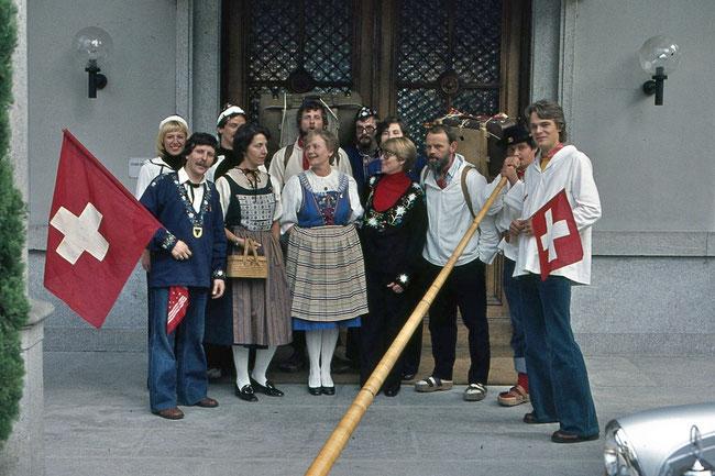 1977 Reise Tessin