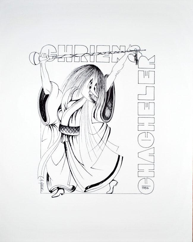 1986 Druck Georg Gallati