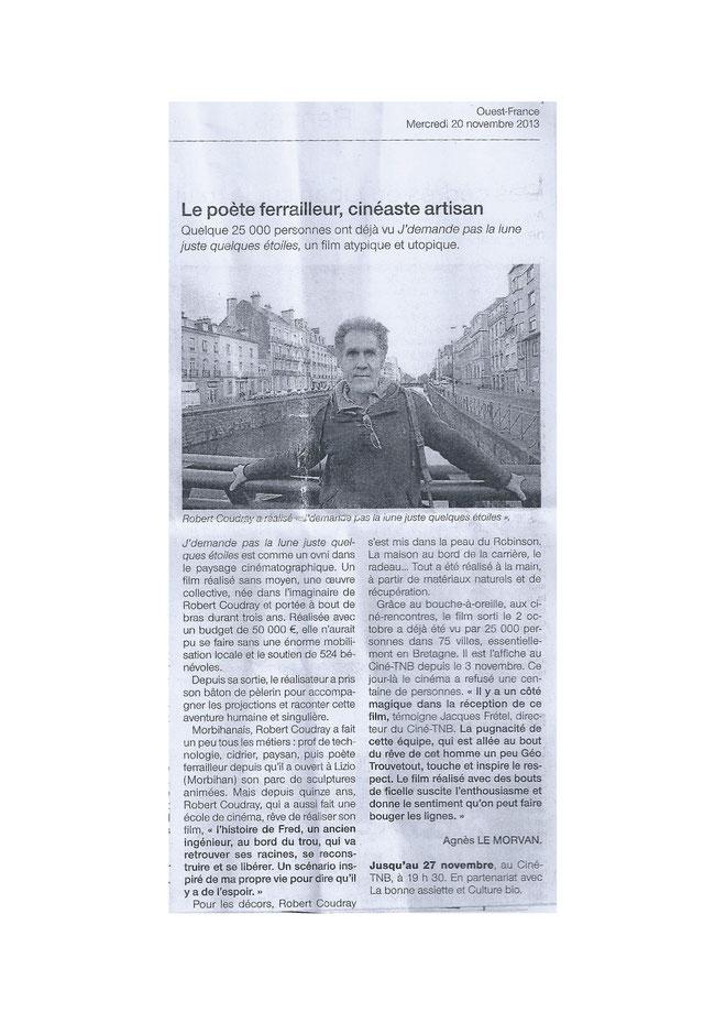 Ouest France_20 novembre 2013