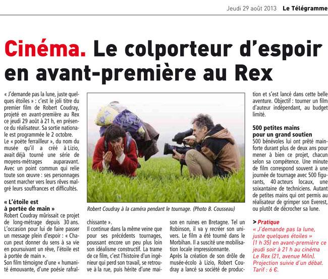 Le Télégramme_29 août 2013