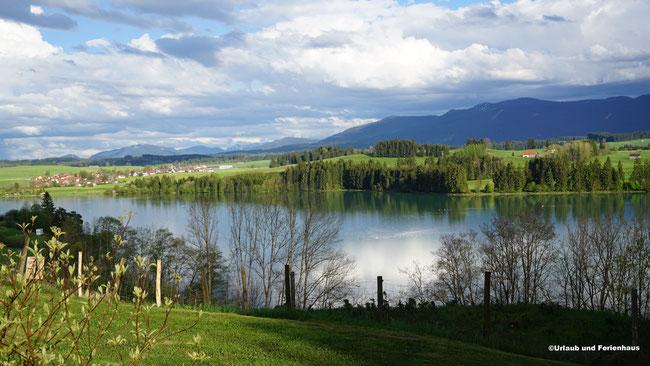 Panoramablick Lechsee