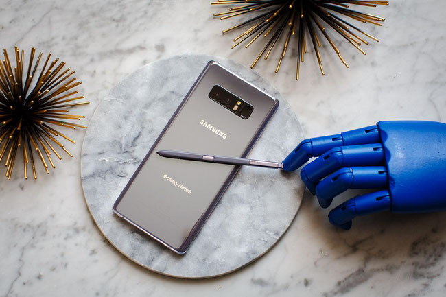 Samsung Galaxy Note 8 Bewertung