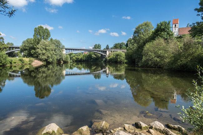 © Traudi – Hier fließt die Fils in den Neckar