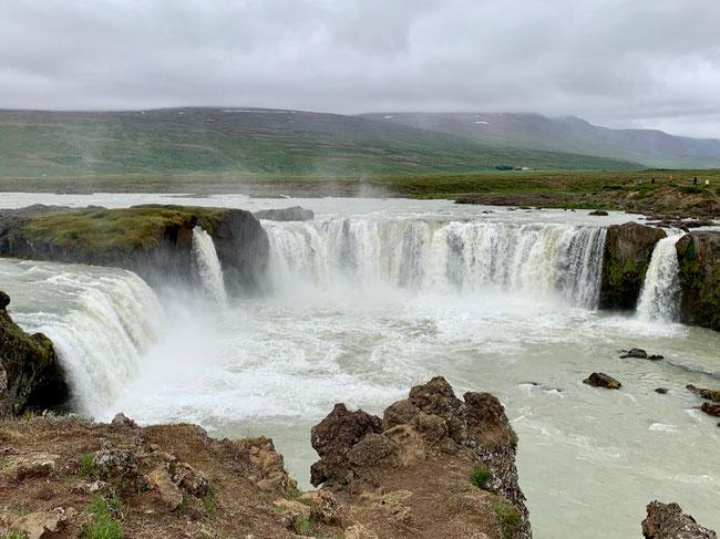 Cascata Goðafoss nel distretto di Bárðardalur. Foto di Alessia Paionni