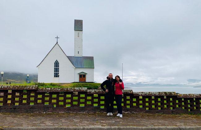 Hallgrímskirkja Saurbæ (aka la chiesetta dove è sepolta la mamma di Riley nella serie Netflix Sense8). Foto di M. Fabrizi