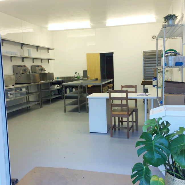 Commercial kitchen renovation