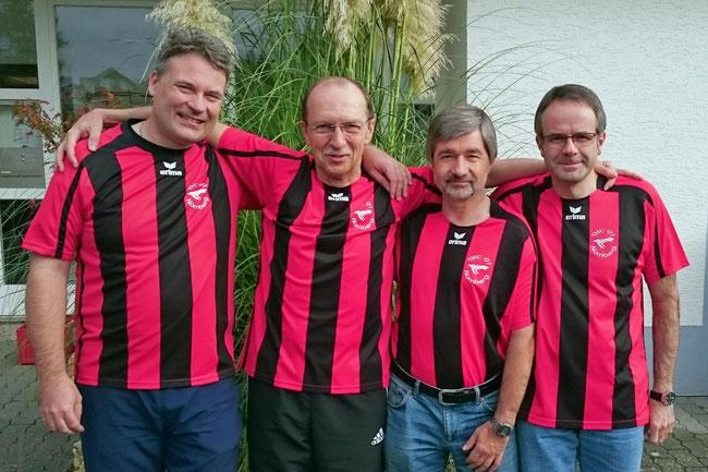 Das Team (von links: Peter Dobler, Hans Kraus, Hermann Frank, Ernst Jobst)