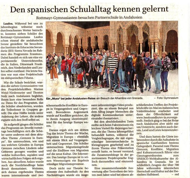 Südostbayerische Rundschau, 30th April 2019