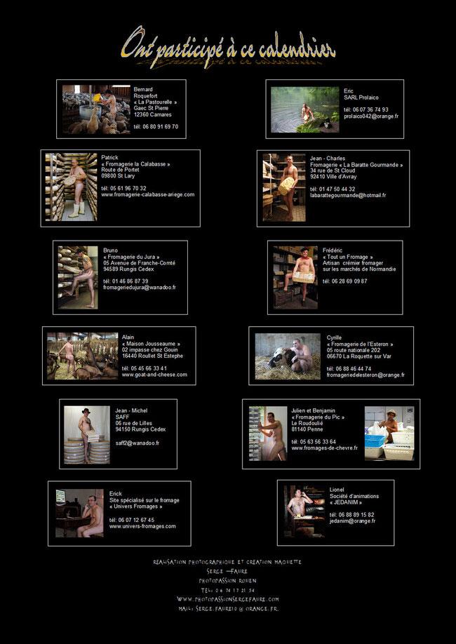 """""""Secrets de Fromages"""" Calendrier 2013 des Fromagers (Nus / Nudes) ©Photographie Serge Faure"""